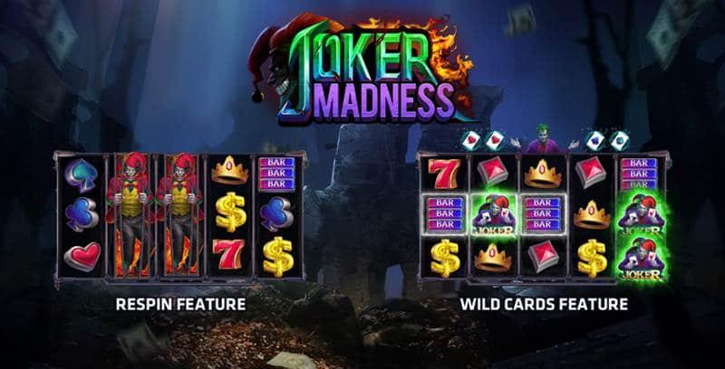 เกมสล็อตออนไลน์ Joker Madness-พนัน