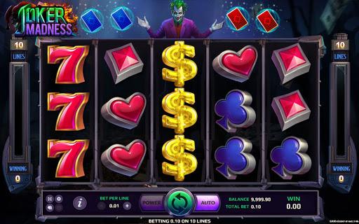 เกมสล็อตออนไลน์ Joker Madness-เกม