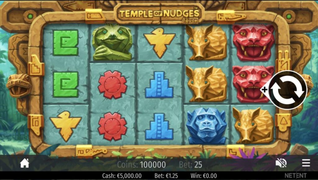 Temple of Nudges-เกม